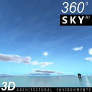 Sky 3D Day 140 3d model
