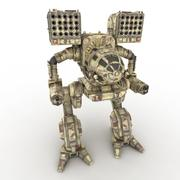 Army Mech Warrior Robot  V2 3d model