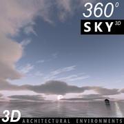 Sky 3D Sunset 063 3d model