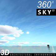 Día 3D del cielo 141 modelo 3d