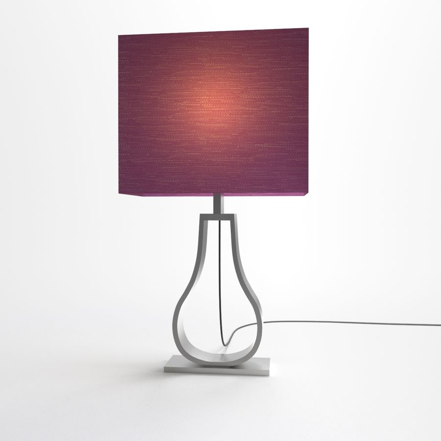 KLABB Table Lilac IKEA 3D Model39obj3dsmax Lamp 8vwOn0Nm