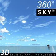 Sky 3D Day 119 3d model