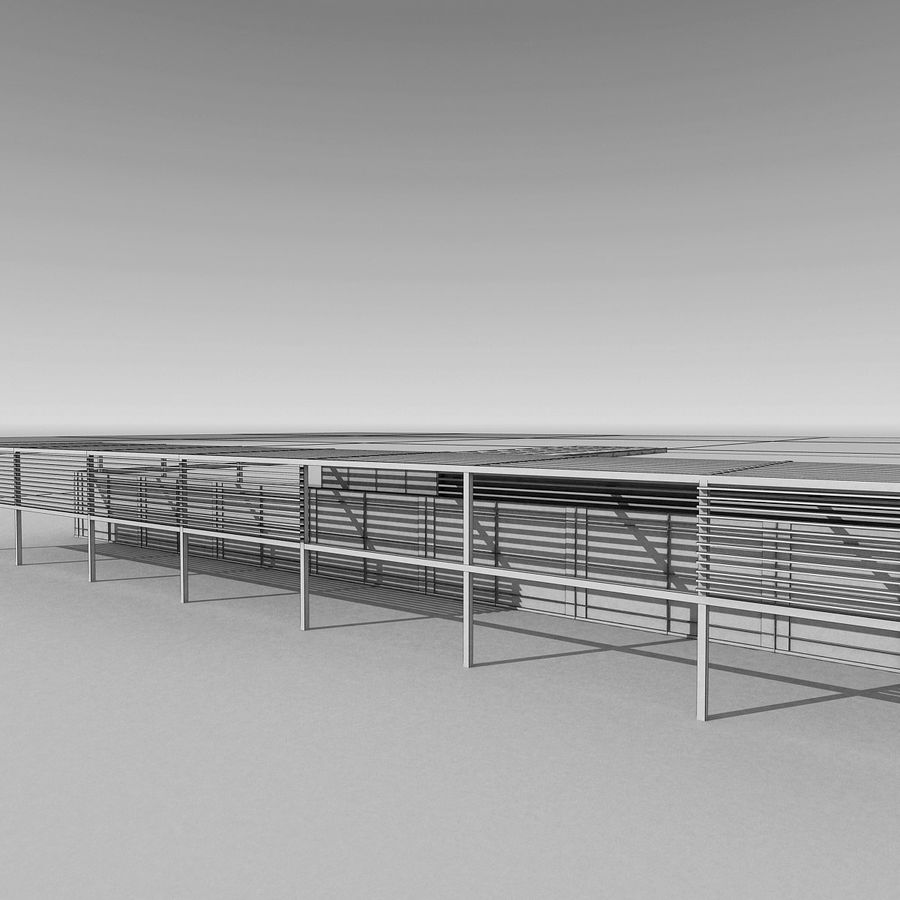 Modern Building 039 royalty-free 3d model - Preview no. 13