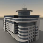 Modern Building 044 3d model