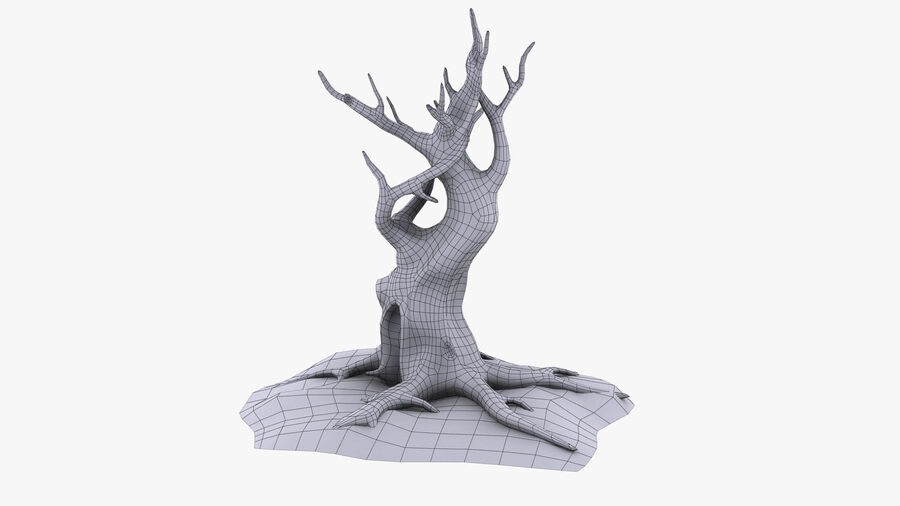 Tree Grass royalty-free 3d model - Preview no. 12