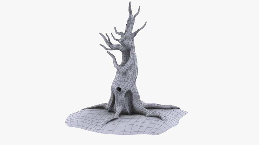 Tree Grass royalty-free 3d model - Preview no. 11