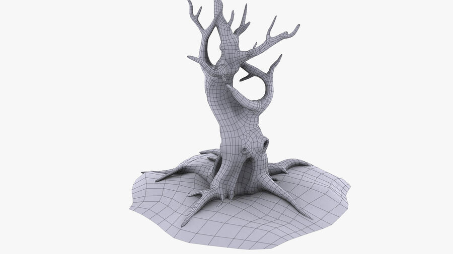 Tree Grass royalty-free 3d model - Preview no. 10