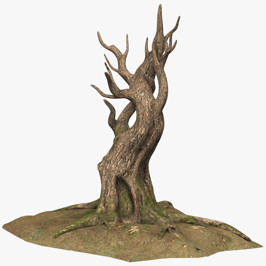 Tree Grass royalty-free 3d model - Preview no. 1