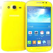 Sumsung Galaxy Grand Neo Yellow 3d model