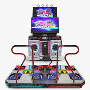 Pump It Up Fiesta Dance Machine 3d model