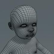 Baby Type 1 basemesh 3d model