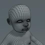 Baby Type 1 basemesh 3d model