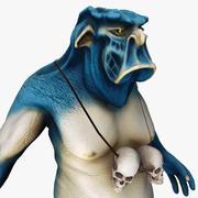 Troll-Kreatur 3d model