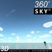 Sky 3D Day 128 3d model