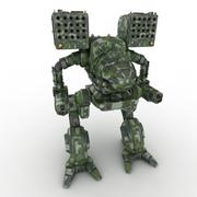 Army Mech Warrior Robot V4 3d model