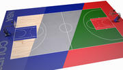 Basketball Court II 3d model