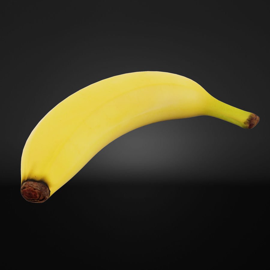 Banan royalty-free 3d model - Preview no. 2