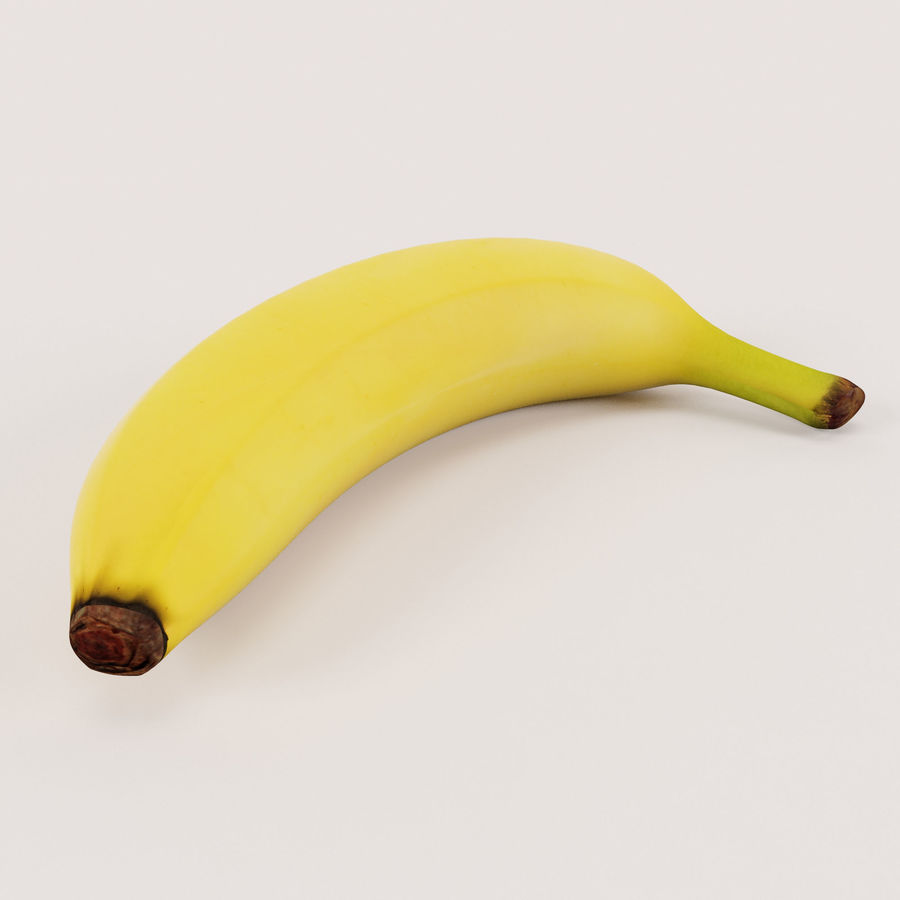Banan royalty-free 3d model - Preview no. 3