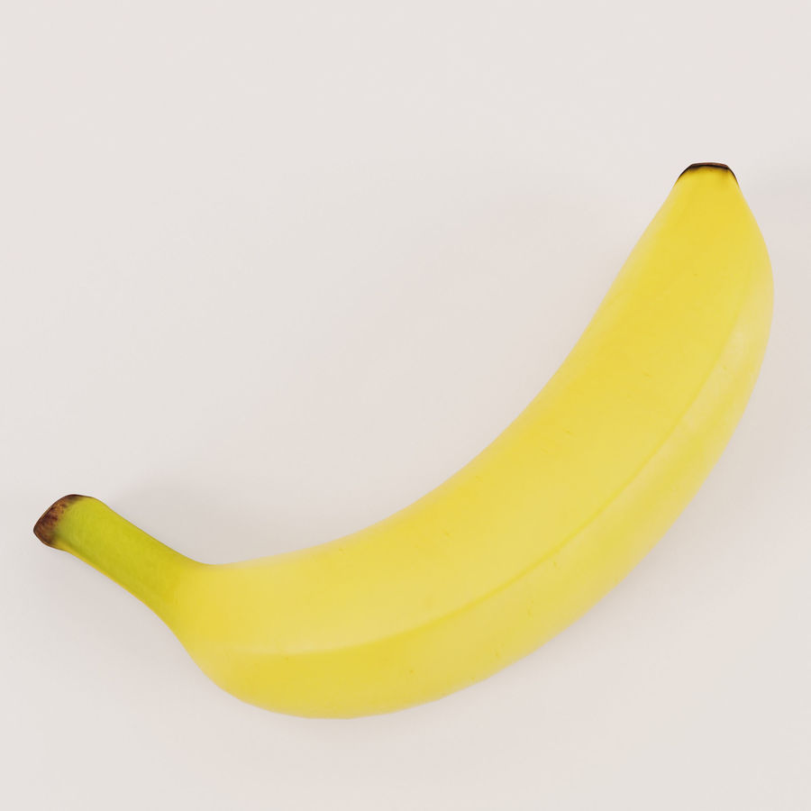 Banan royalty-free 3d model - Preview no. 9