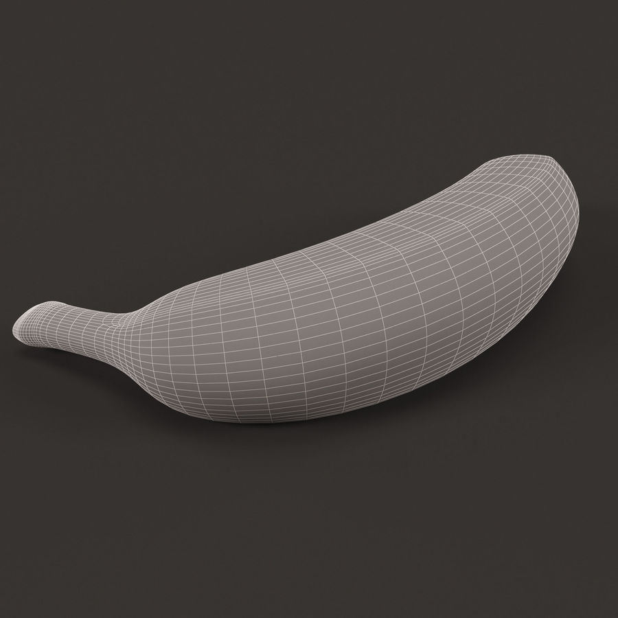 Plátano royalty-free modelo 3d - Preview no. 8