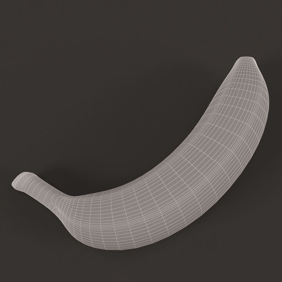 Plátano royalty-free modelo 3d - Preview no. 10
