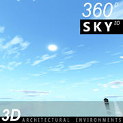 Sky 3D Day 117 3d model