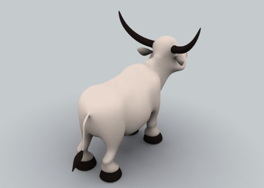 Boğa royalty-free 3d model - Preview no. 5