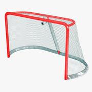 冰上曲棍球目标 3d model