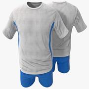 Vêtements de sport 3d model