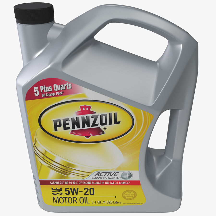 Pennzoil de óleo de motor de veículo royalty-free 3d model - Preview no. 1