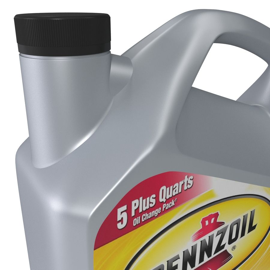 Pennzoil de óleo de motor de veículo royalty-free 3d model - Preview no. 13
