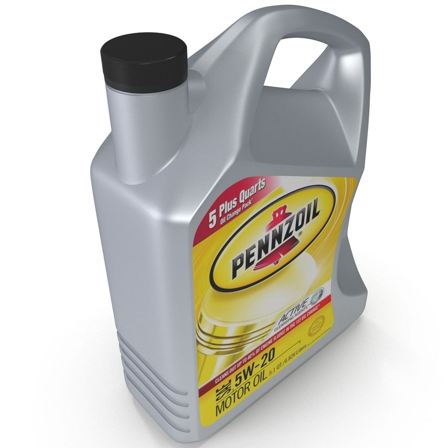 Pennzoil de óleo de motor de veículo royalty-free 3d model - Preview no. 10