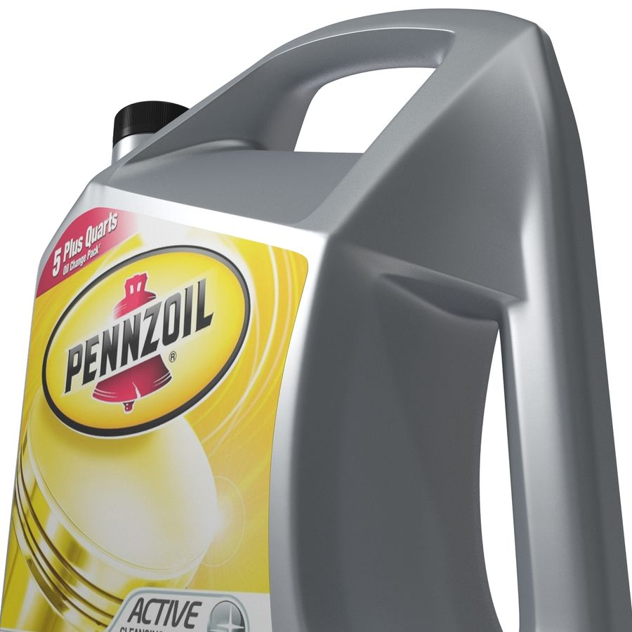 Pennzoil de óleo de motor de veículo royalty-free 3d model - Preview no. 16