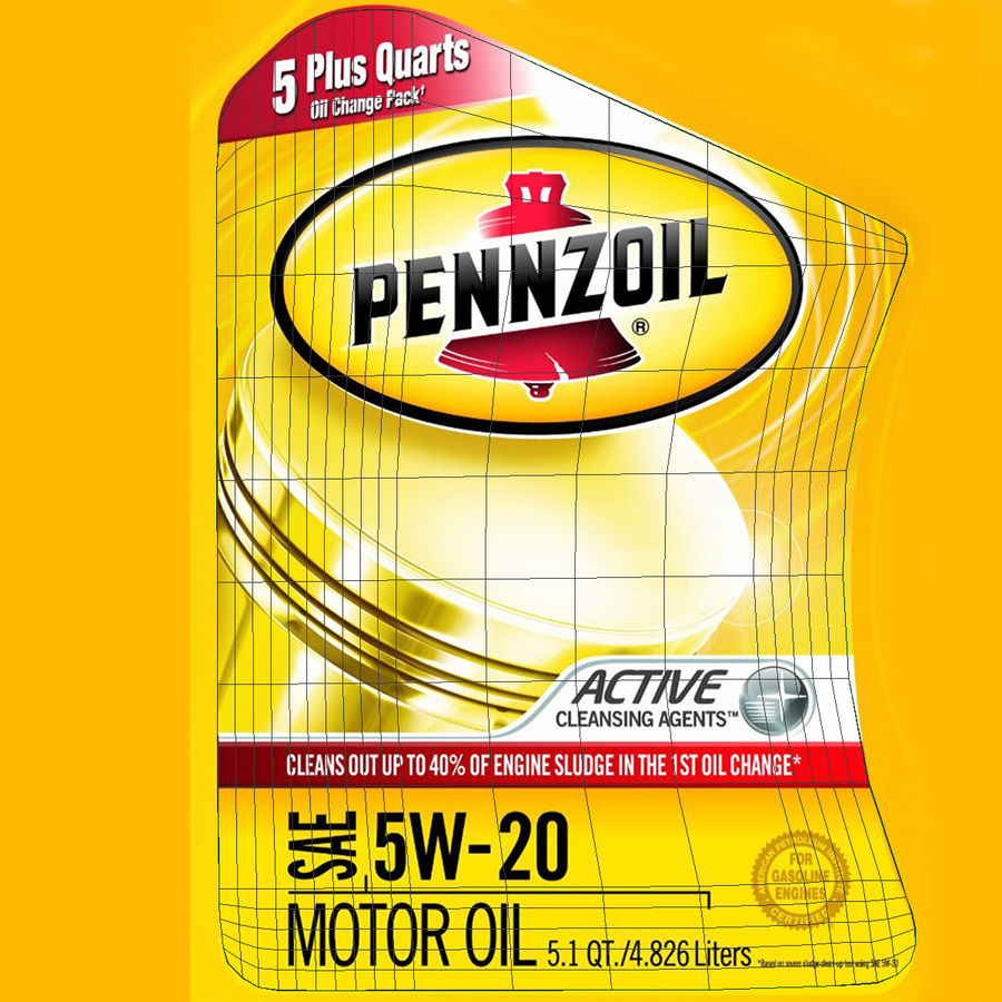 Pennzoil de óleo de motor de veículo royalty-free 3d model - Preview no. 35