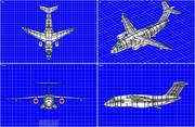 Embraer KC-90 Transport Aircraft Solid Assembly Modelo modelo 3d