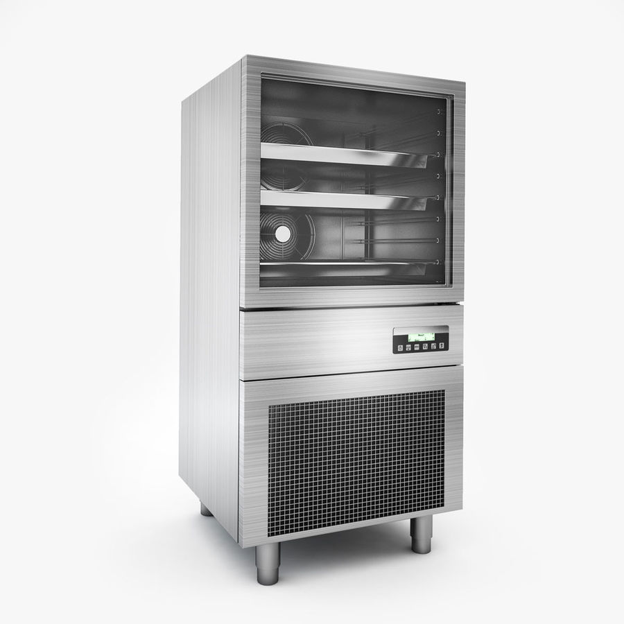 Kitchen Equipment royalty-free 3d model - Preview no. 4