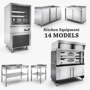 Kitchen Equipment 3d model