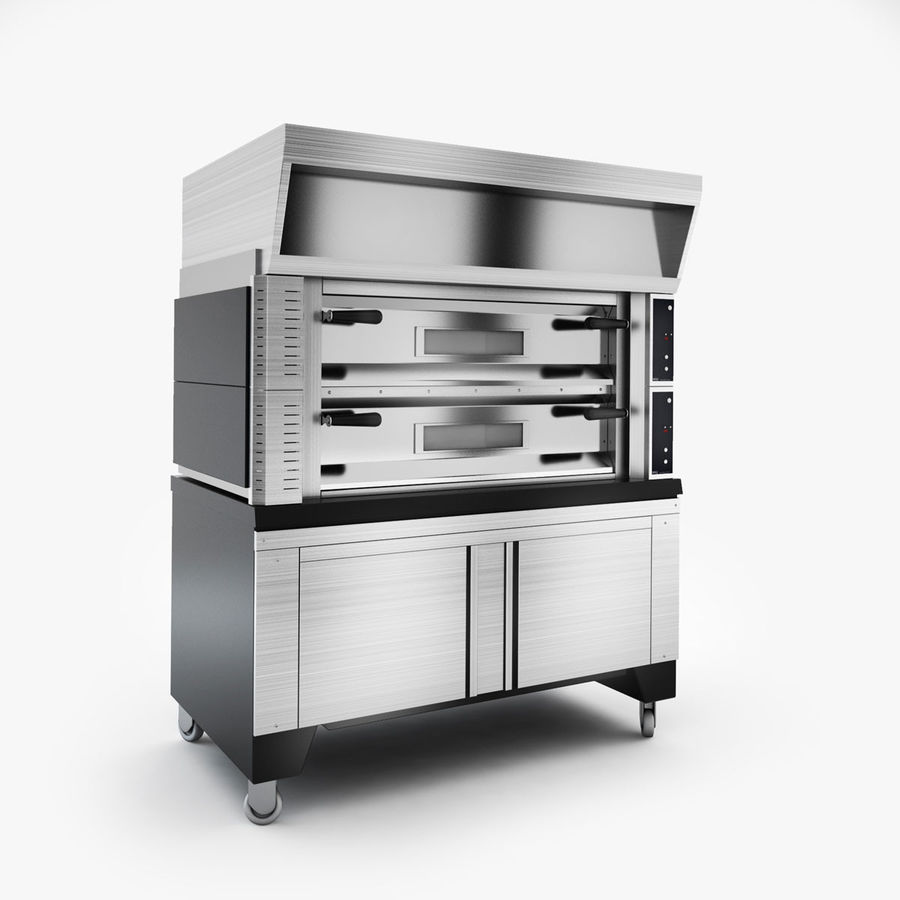 Kitchen Equipment royalty-free 3d model - Preview no. 3