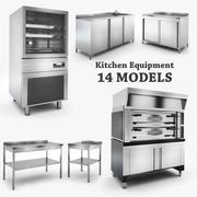 Keuken apparatuur 3d model