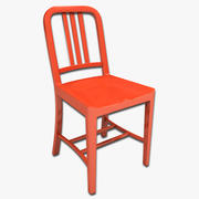 Cafe Chair 11 3d model