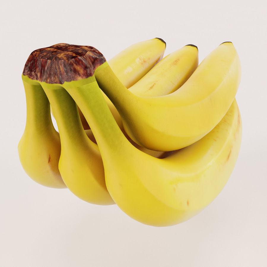 Banana Stem royalty-free 3d model - Preview no. 7