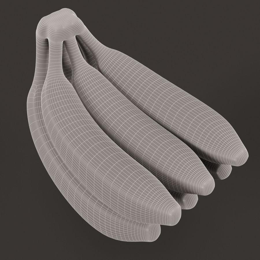 Banana Stem royalty-free 3d model - Preview no. 10