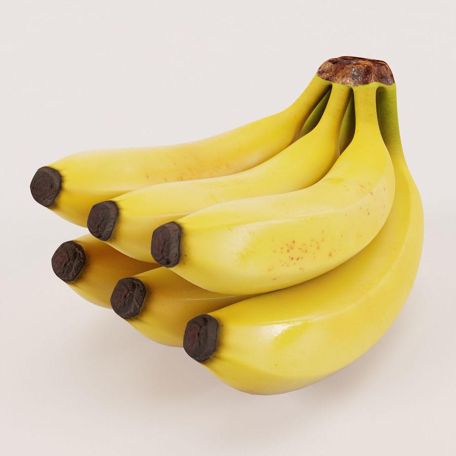 Banana Stem royalty-free 3d model - Preview no. 3