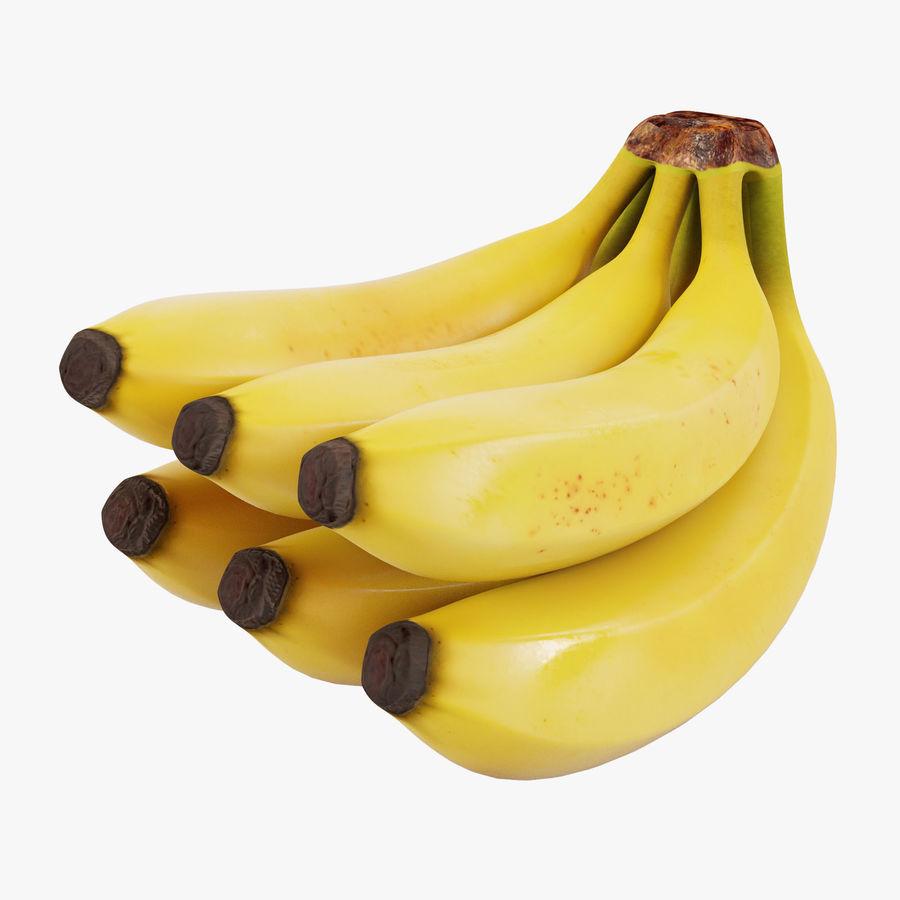 Banana Stem royalty-free 3d model - Preview no. 1