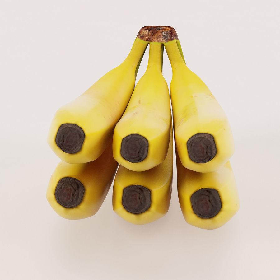 Banana Stem royalty-free 3d model - Preview no. 5