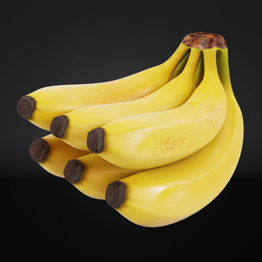 Banana Stem royalty-free 3d model - Preview no. 2