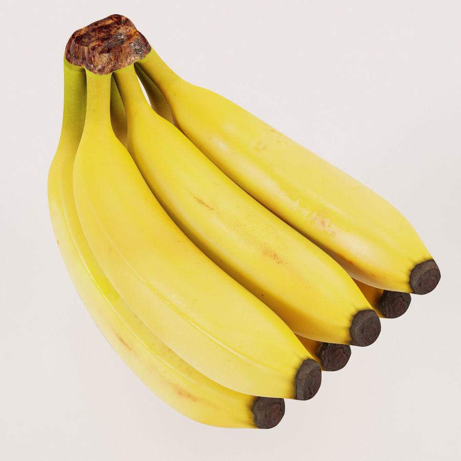 Banana Stem royalty-free 3d model - Preview no. 9