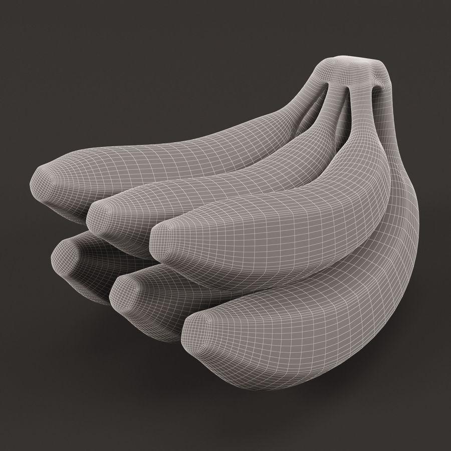 Banana Stem royalty-free 3d model - Preview no. 4