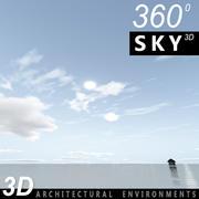 Sky 3D Day 122 3d model