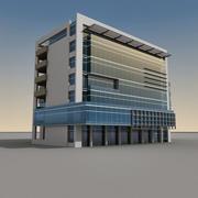 Modern Building 069 3d model